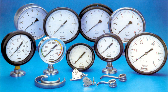 Weatherproof Bourdon Type Pressure Gauges